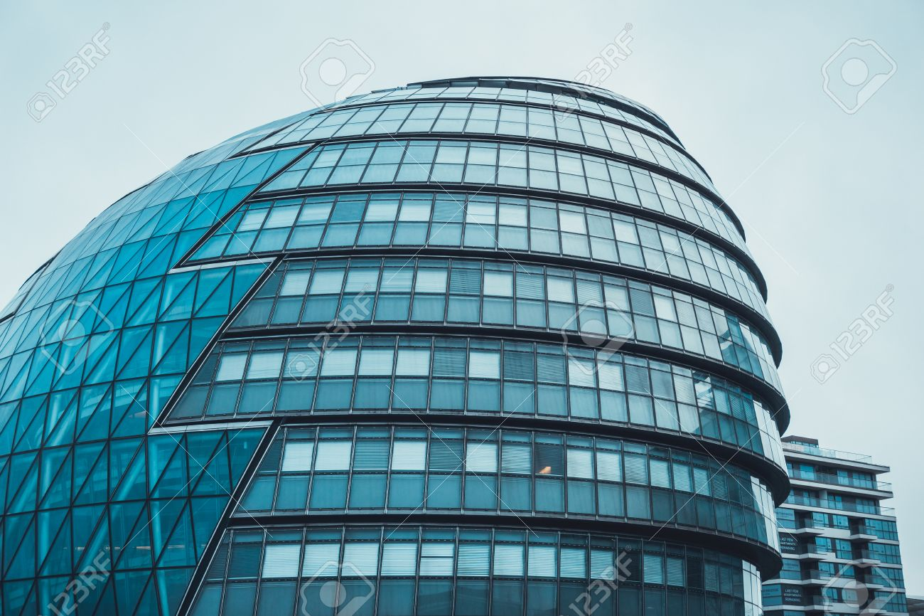 Curved Architecture Modern Curved Architecture With The Domed Facade Of A High Rise
