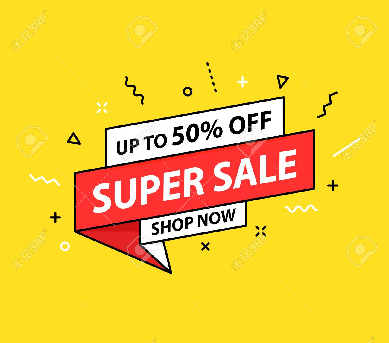 Sale Tag Special Offer Big Sale Discount Best Price Mega