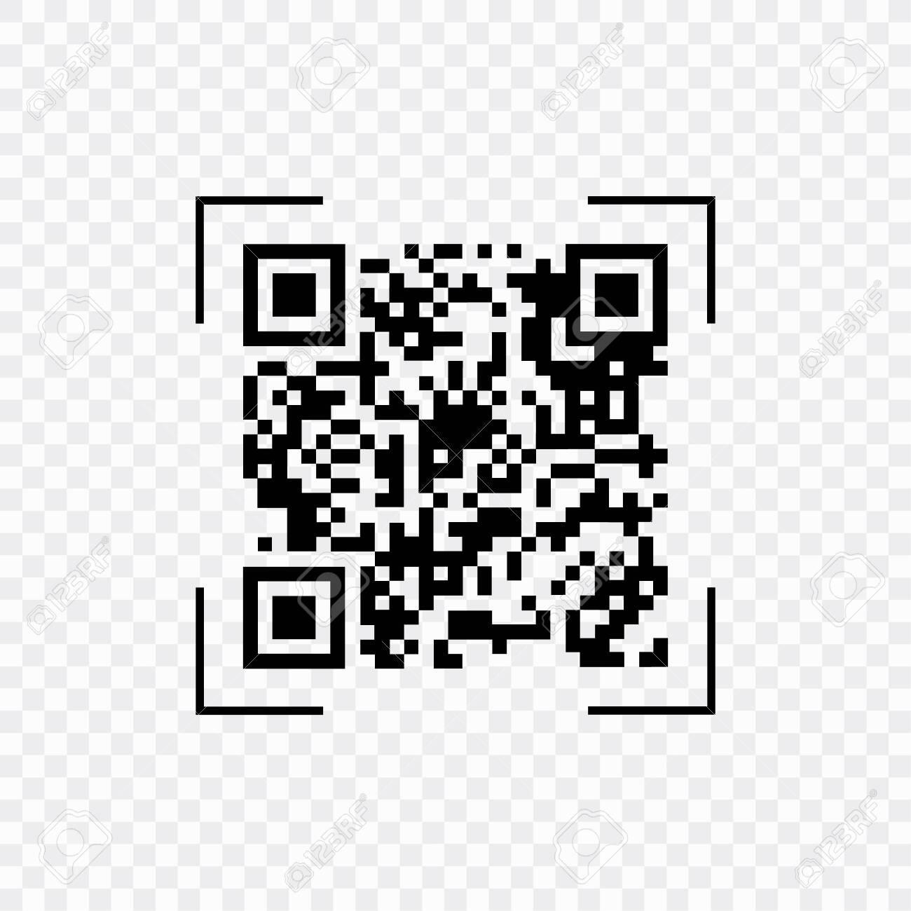 Scan QR code, symbol, app  Electronic , digital technology barcode