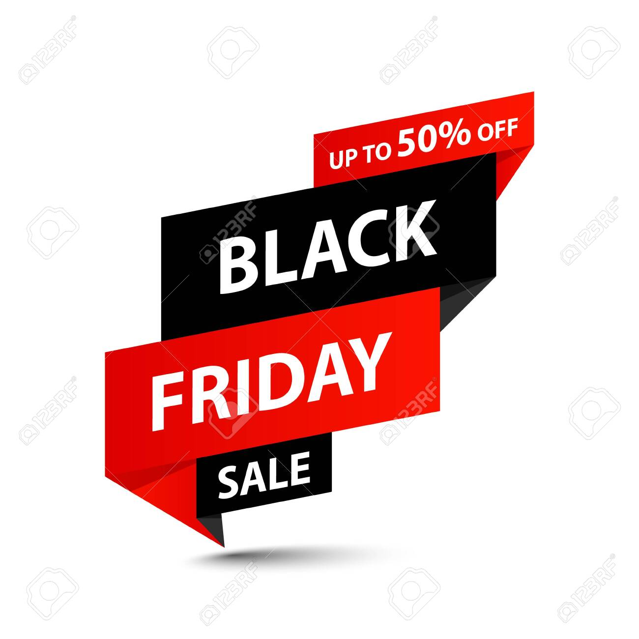 Black Friday Sale tag. Special offer, big sale, discount, best price, mega sale banner. Shop or online shopping. Sticker, badge, coupon store Vector Illustration - 133234918