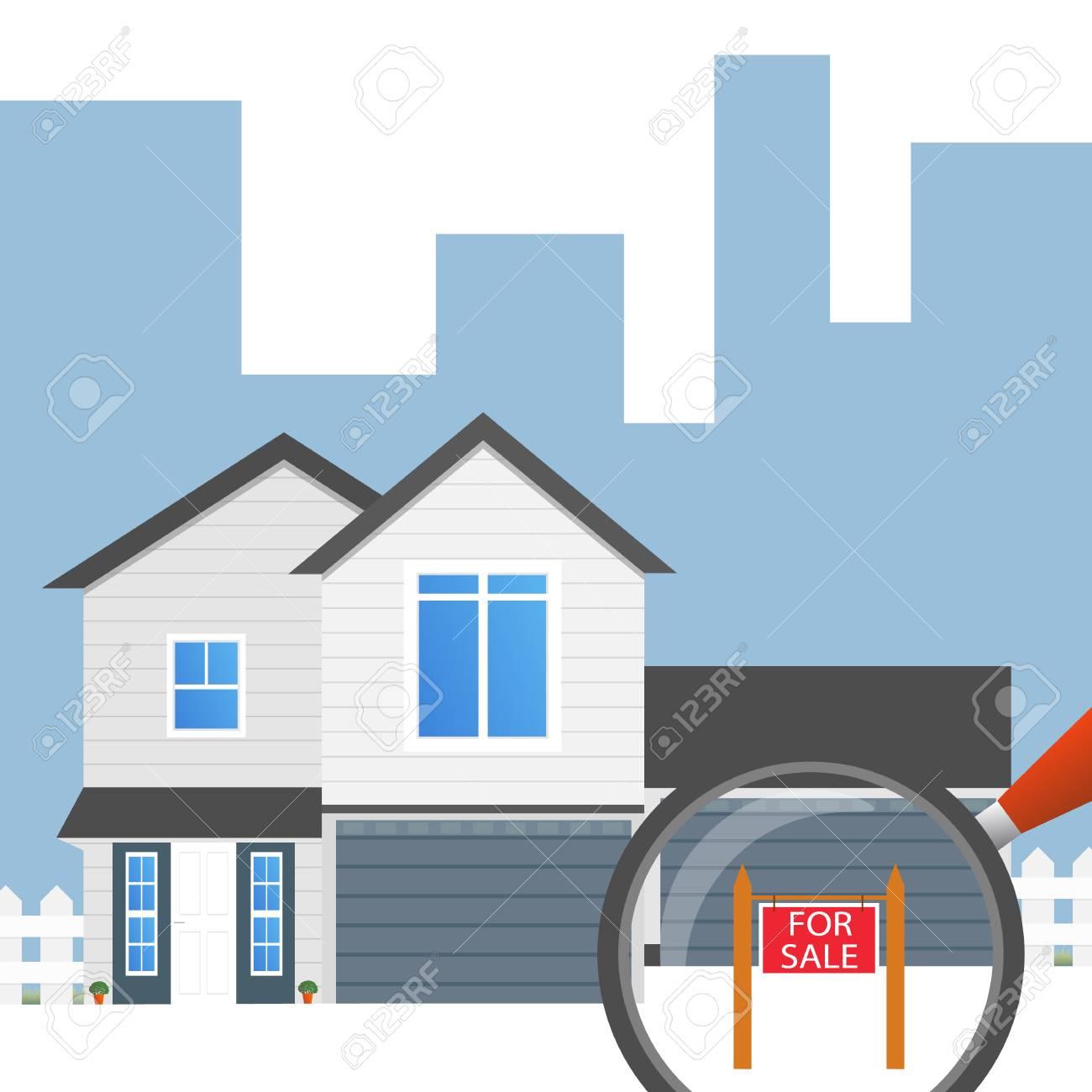Zu Verkaufen Haus Wohnung Symbol Entwerfen Sie Ihre Eigene Wohnung