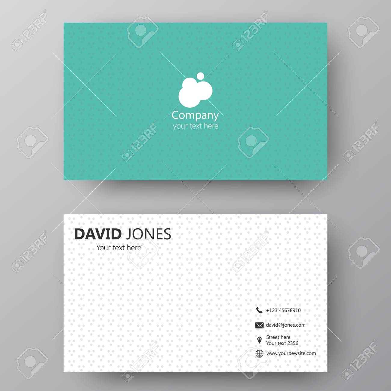 visiting card for business images - free business cards, Powerpoint templates