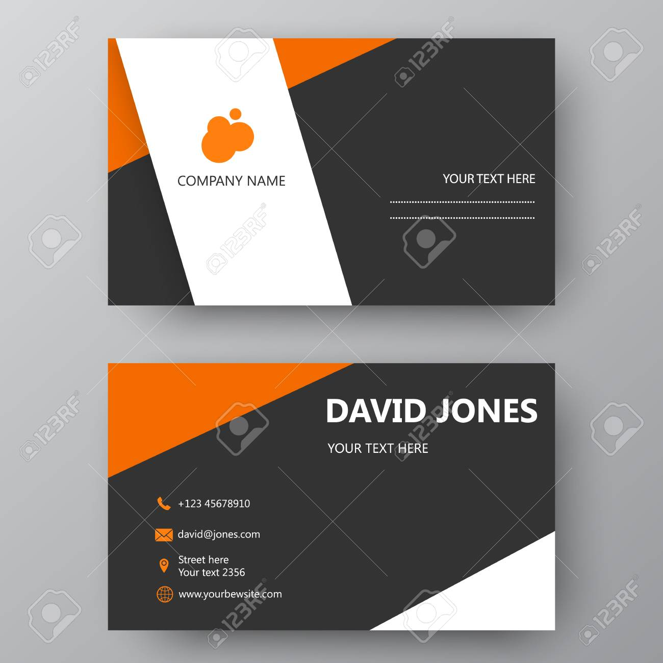 Business Card Template Visiting Card For Business And Personal - Complimentary card template