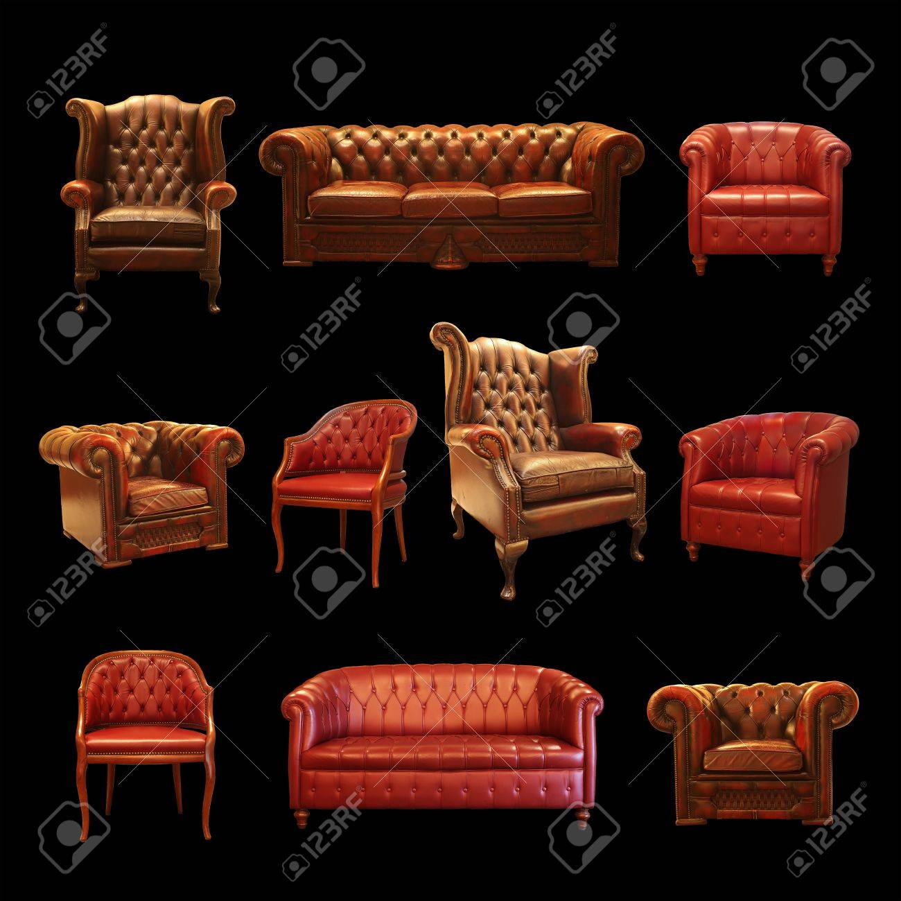 Sitting Collection Stock Photo - 11322820