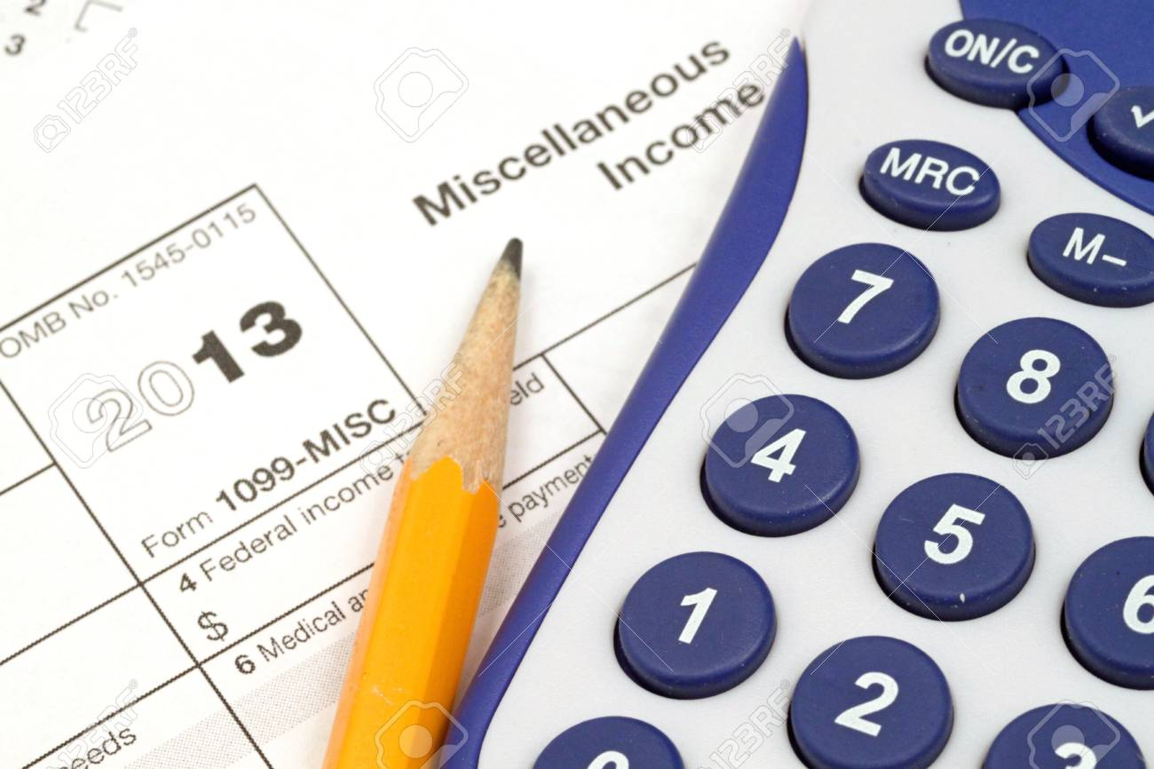 Tax Documents With Accessories Stock Photo - 22495836