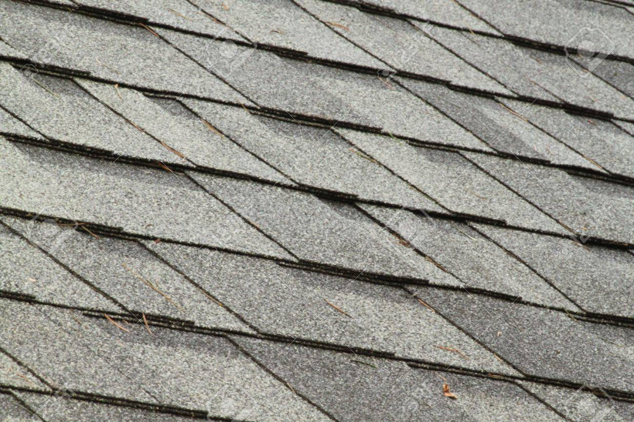 Pictures of roof shingles - Brand New Roof Shingles Stock Photo 22496355