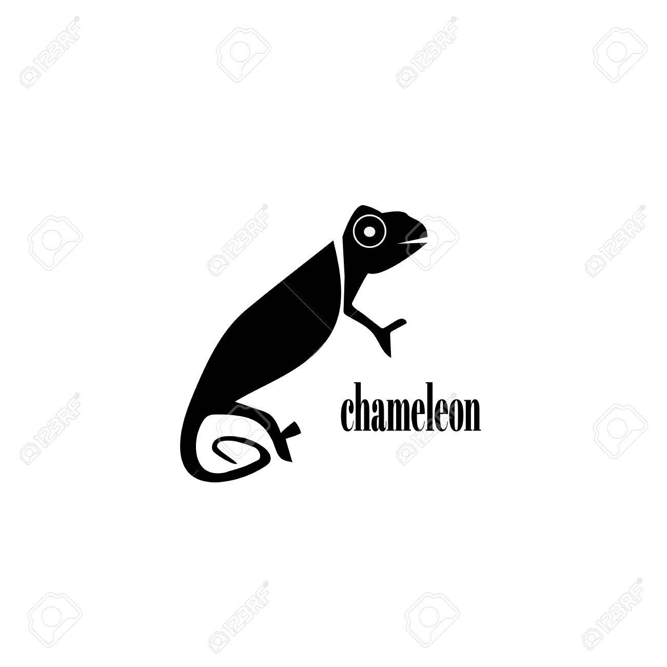 Chameleon Logo Design Template For Your Company Vector