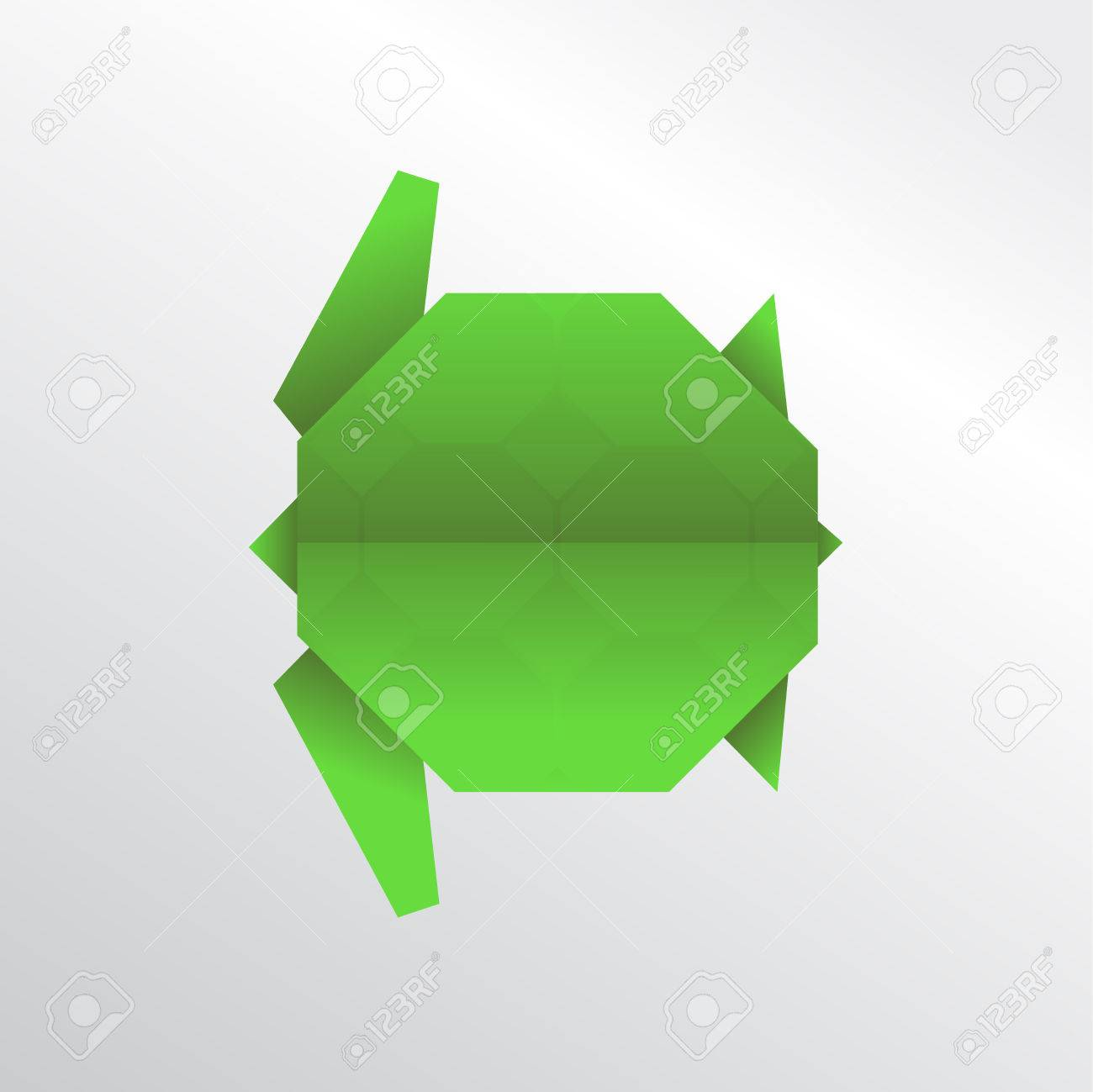 Turtle Origami Stock Photo Picture And Royalty Free Image Image