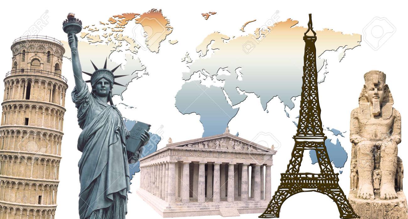 around world Stock Photo - 1574943
