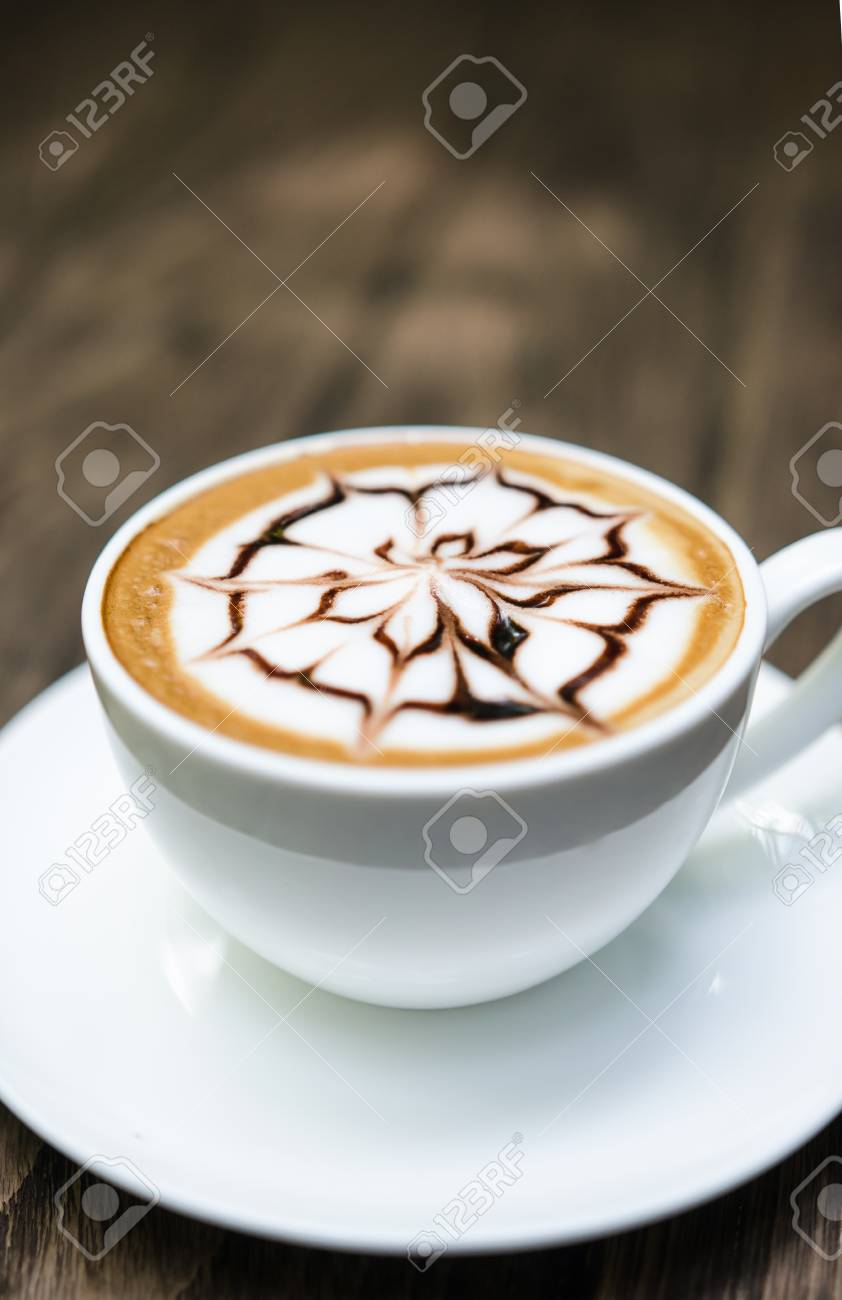 Barista Making A Cup Of Coffee Stock Photo Picture And Royalty