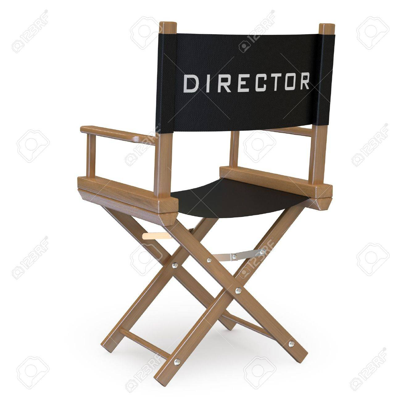Back of director chairs - Director Chair Film Director Chair Back View