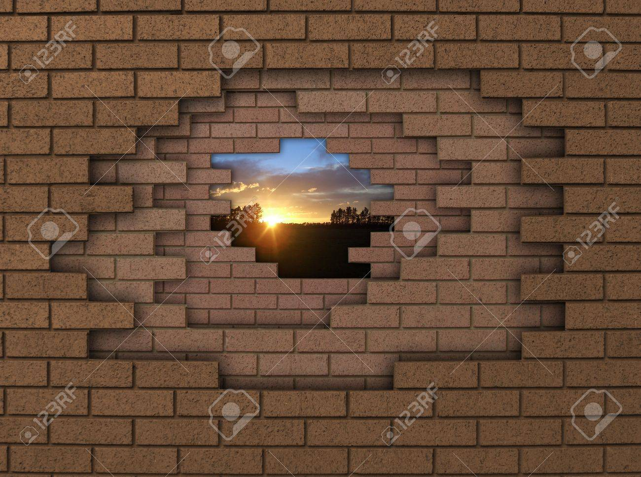 breaking down walls Stock Photo - 2934957