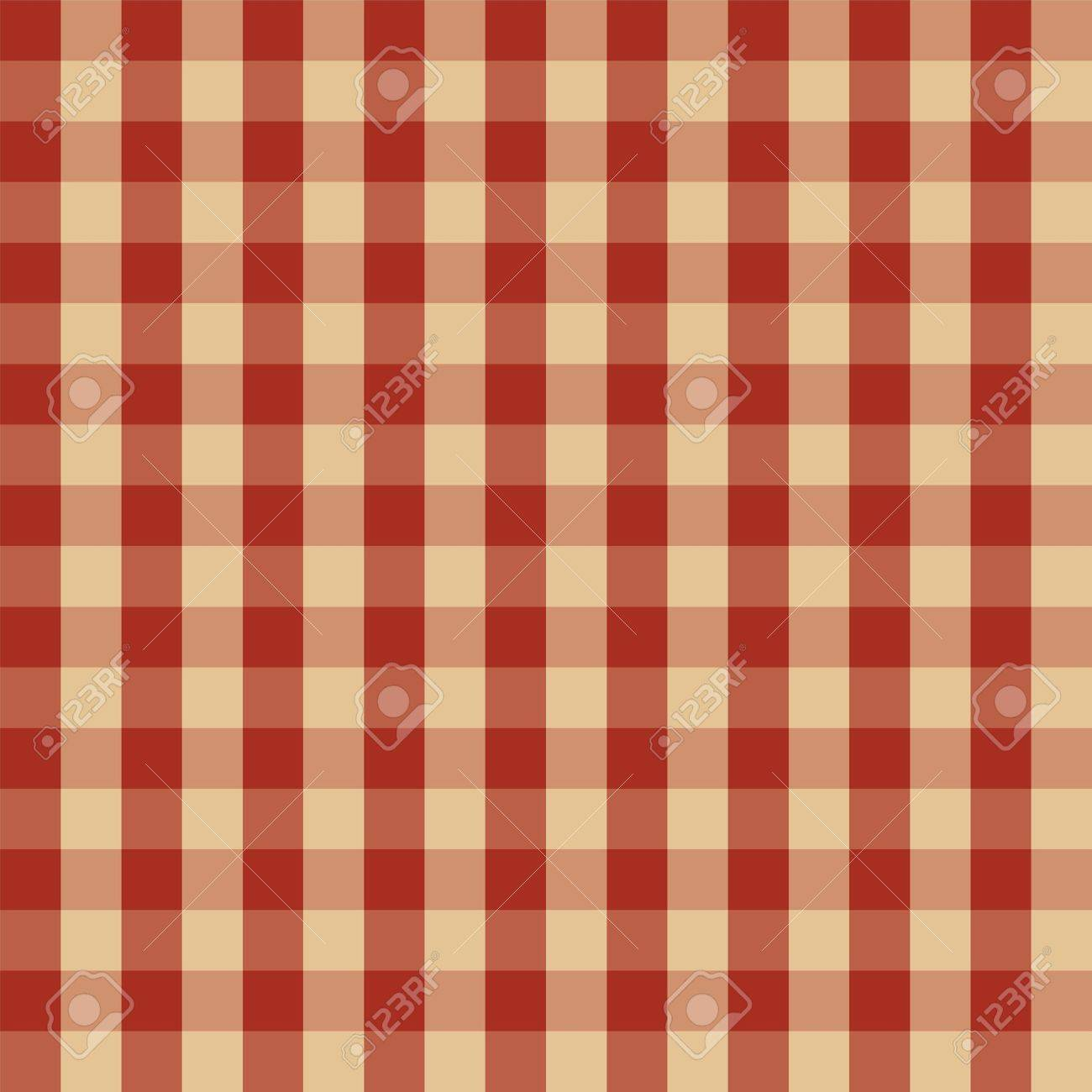 Checkered picnic tablecloth  Seamless pattern Stock Vector - 16731639