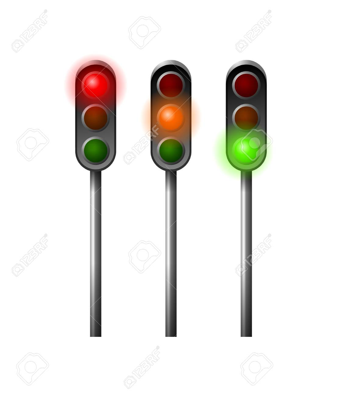 traffic lights Stock Photo - 17191404