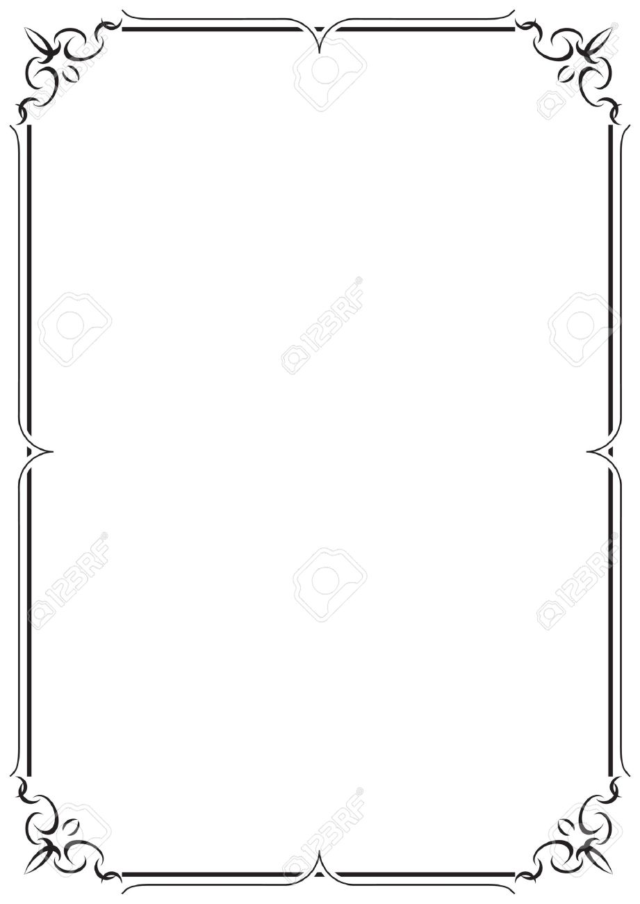 vector frame and border royalty free cliparts vectors and stock rh 123rf com vector frames free vector frames freepik