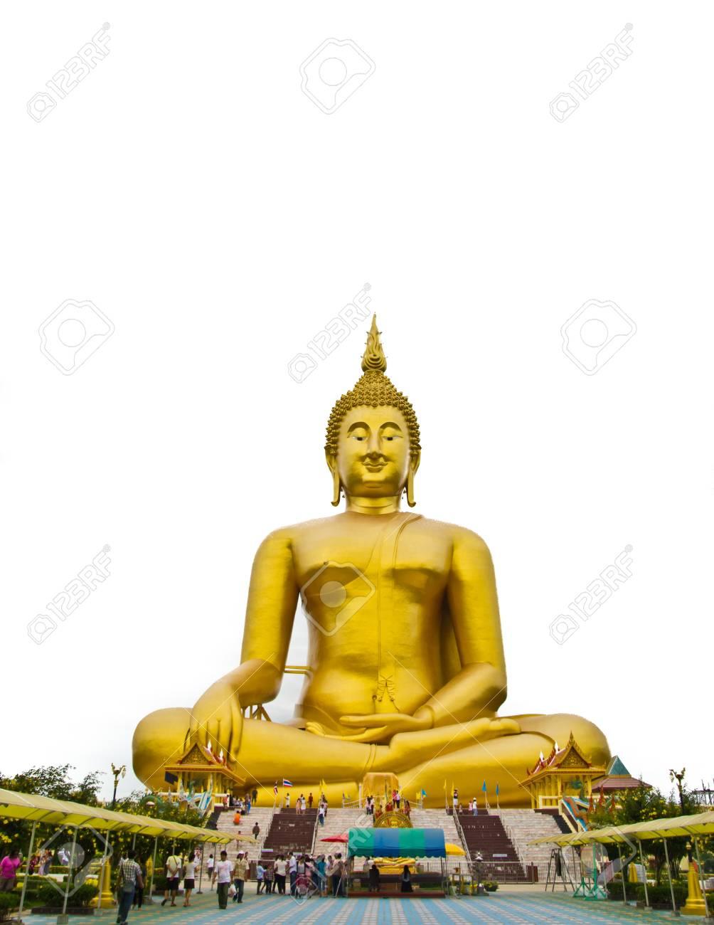 big buddha at thailand Stock Photo - 15355885