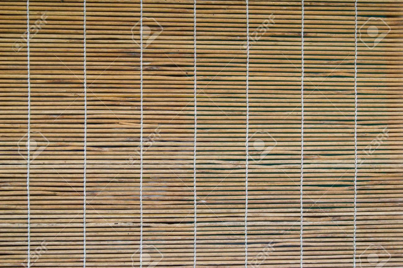 bamboo curtain on the windows Stock Photo - 17002588