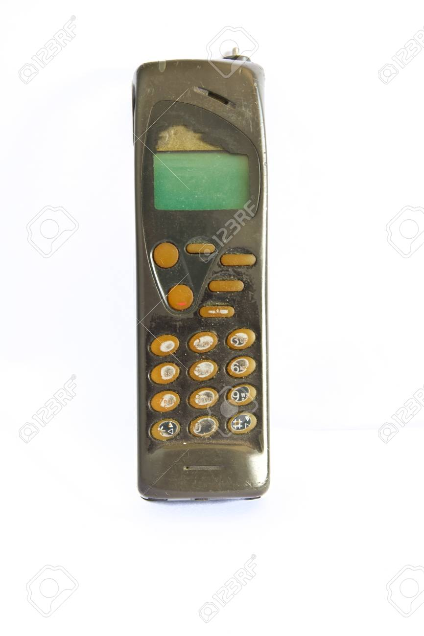 old cell phone Stock Photo - 19414320