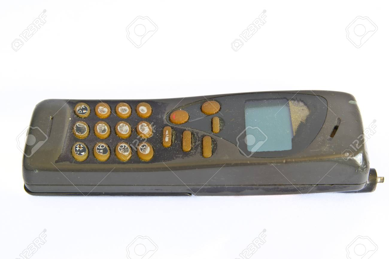 old cell phone Stock Photo - 19414356
