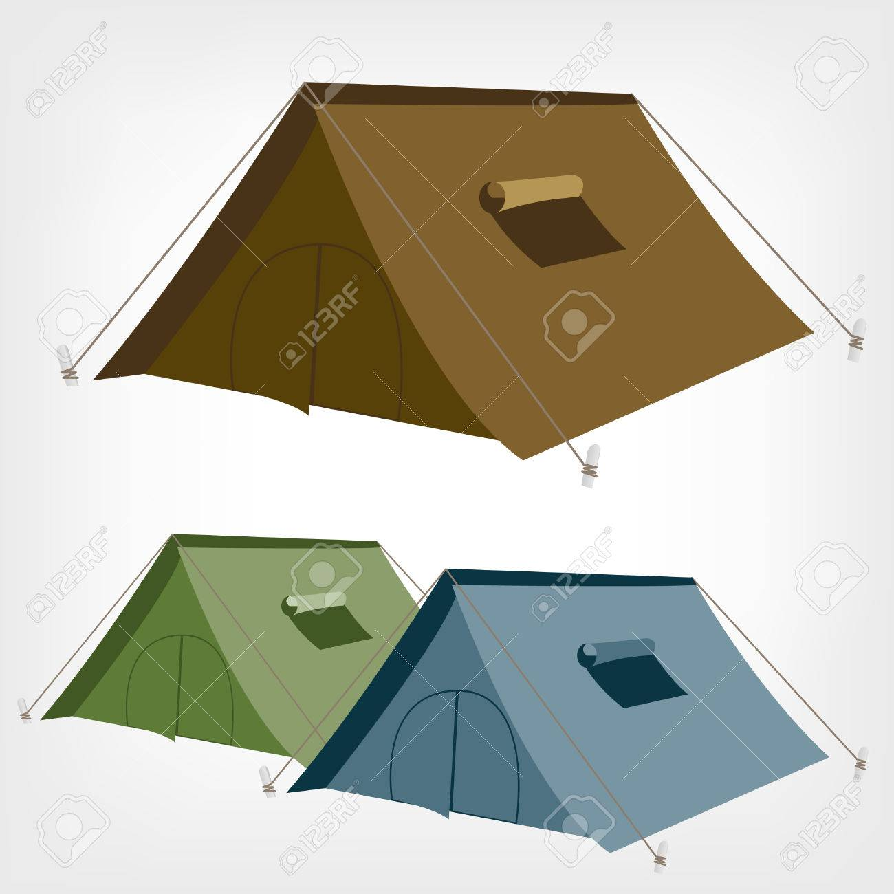 Camping Tent Vector Free Download Camping Tent Vector Tourist