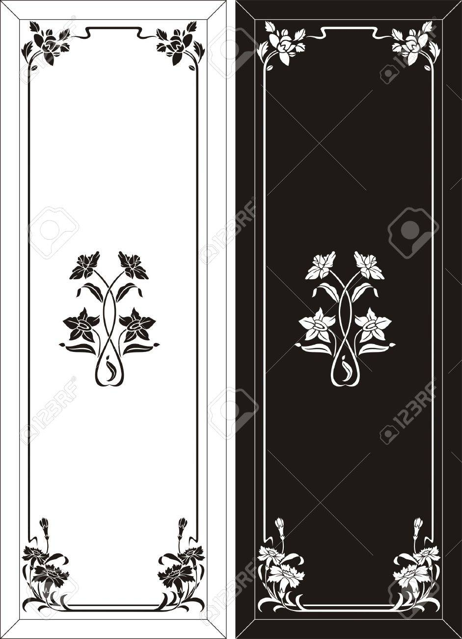 glass etching pattern Stock Vector - 19116585