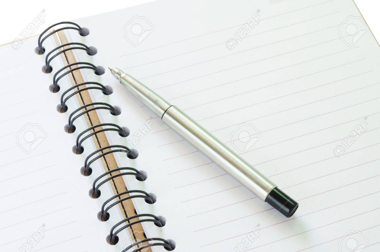 Notebook and pen in concept of business or education Stock Photo - 11378957