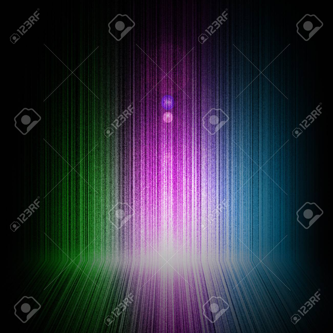 Background of Northern light or aurora Stock Photo - 14956835