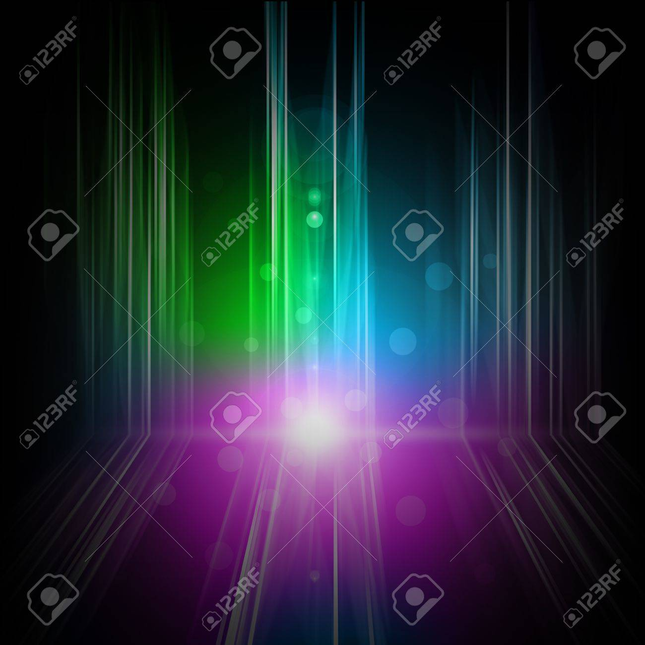 Background of Northern light or aurora Stock Photo - 14956846
