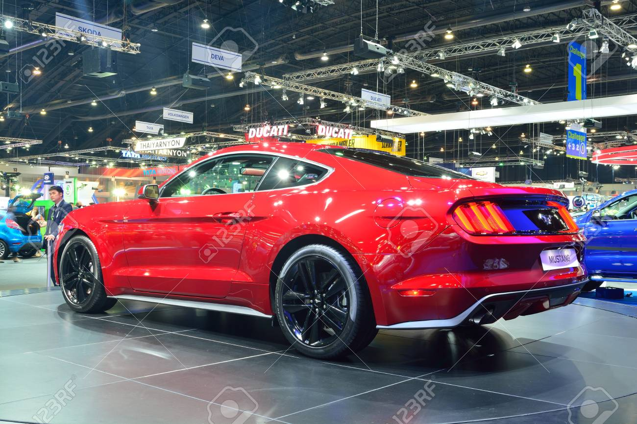 2 3 L Mustang >> Nonthaburi December 1 Ford Mustang 2 3l Ecoboost Car Display