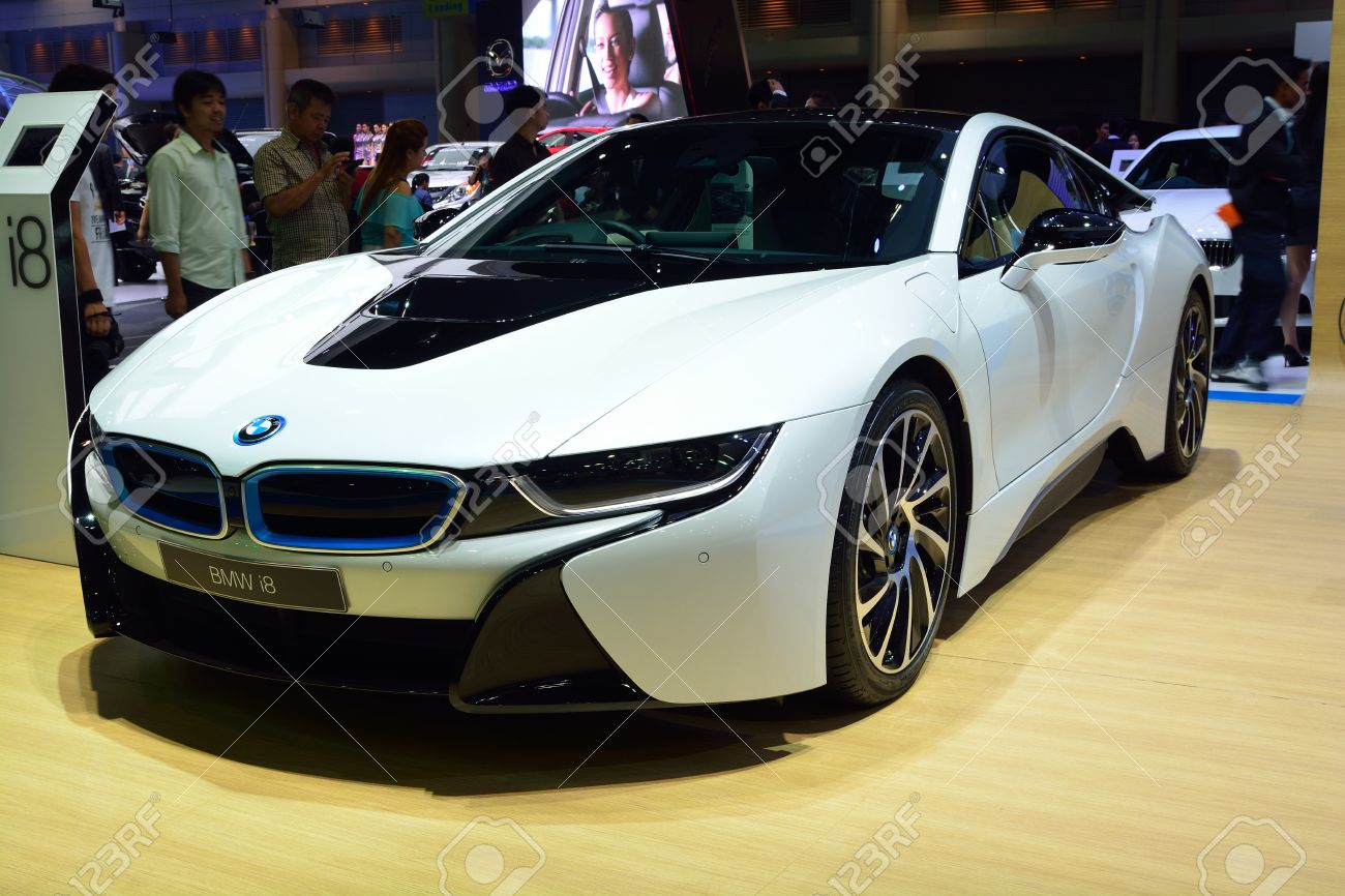 Nonthaburi December 1 New Bmw I8 Sports Car Display At Thailand