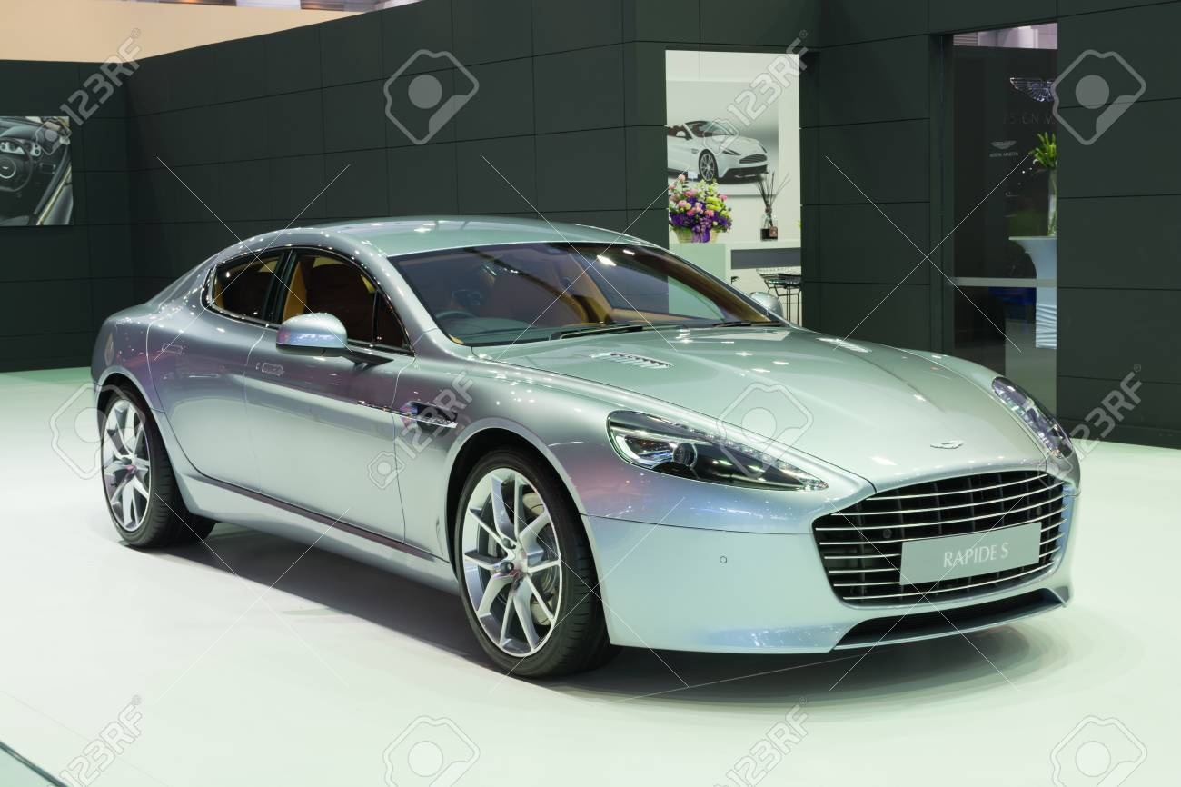 Nonthaburi March 23 New Aston Martin Rapide S On Display At Stock Photo Picture And Royalty Free Image Image 54542215