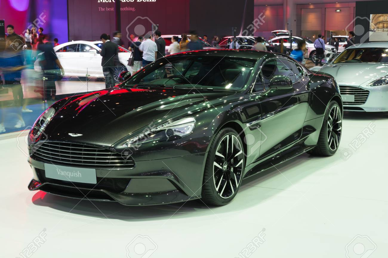 Nonthaburi March 23 New Aston Martin Vanquish On Display At Stock Photo Picture And Royalty Free Image Image 54542263