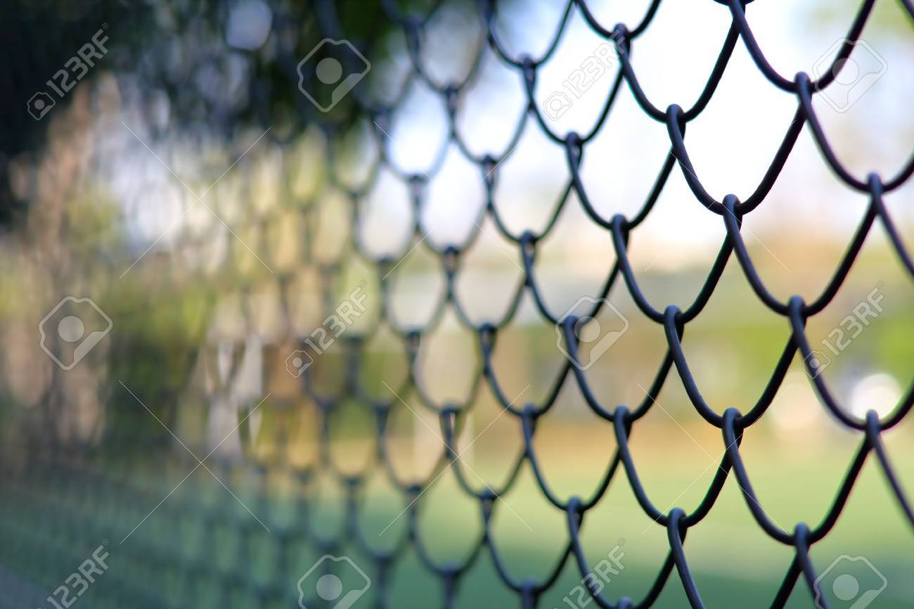 chain link fencing cyclone fence stock photo picture and royalty