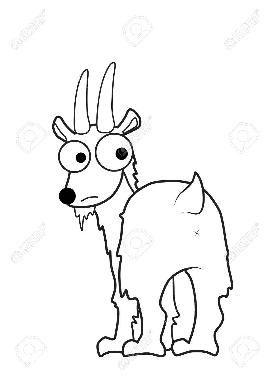 Goat  cartoon Stock Vector - 15726370