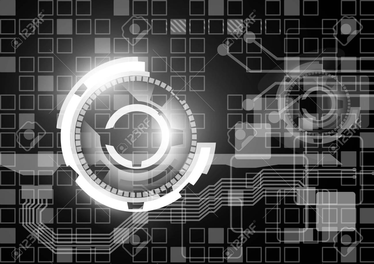 Tecnology background Stock Vector - 17103286