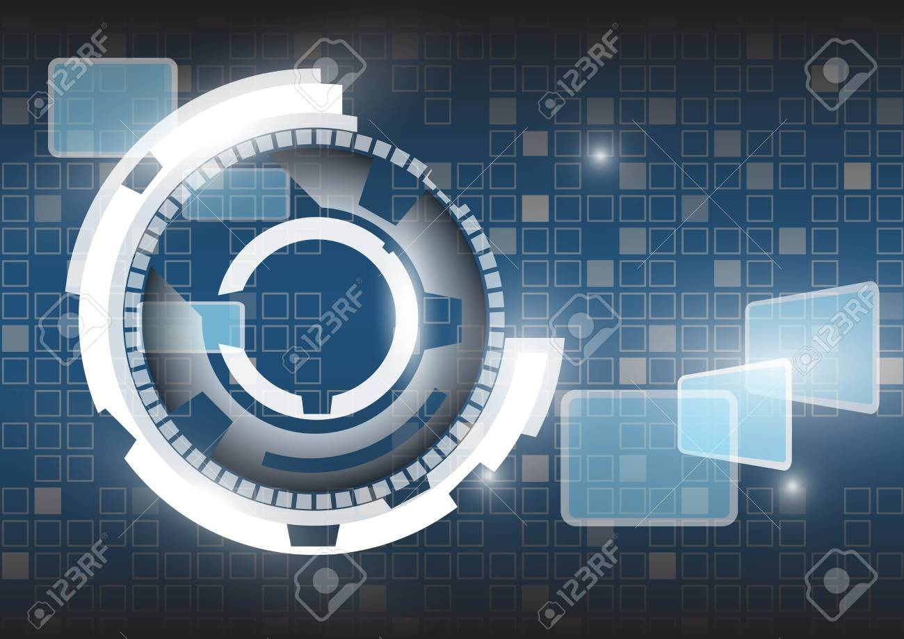 Abstract technology vector background Stock Vector - 17619171