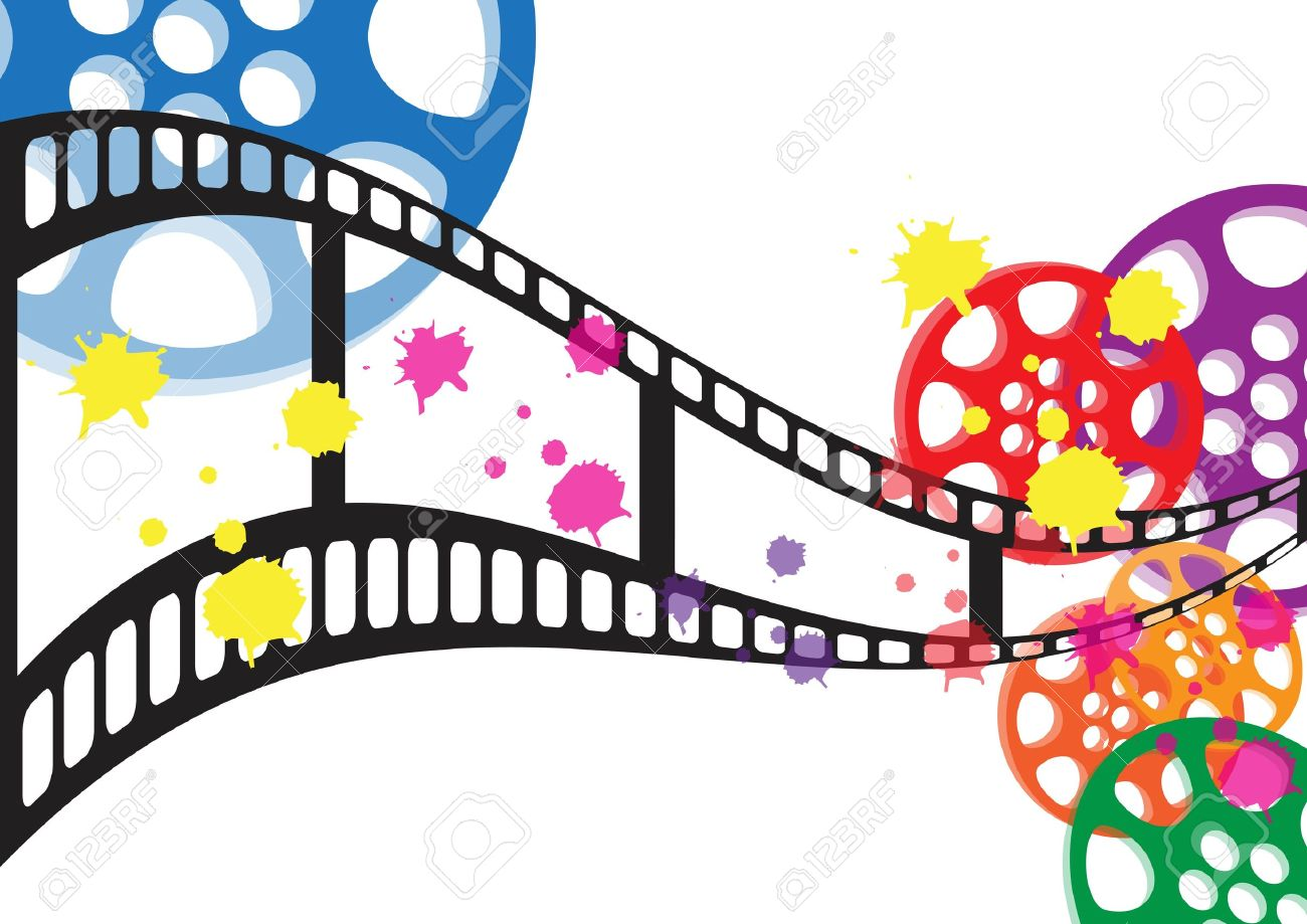 Background Film Vector Royalty Free Cliparts Vectors And Stock