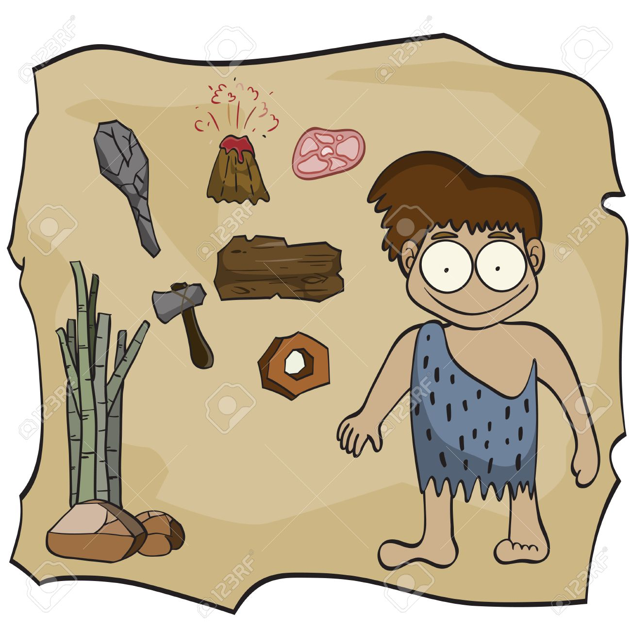 Image result for stone age cartoon