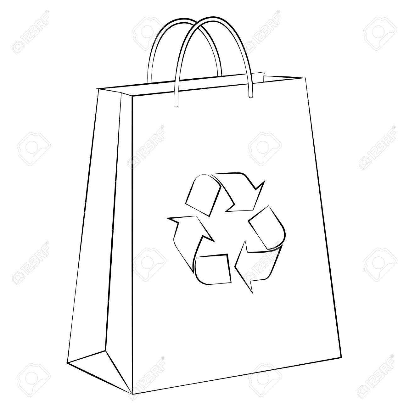 global warming papers vector paper bag to reduce global warming is isolated on a white rf com vector vector
