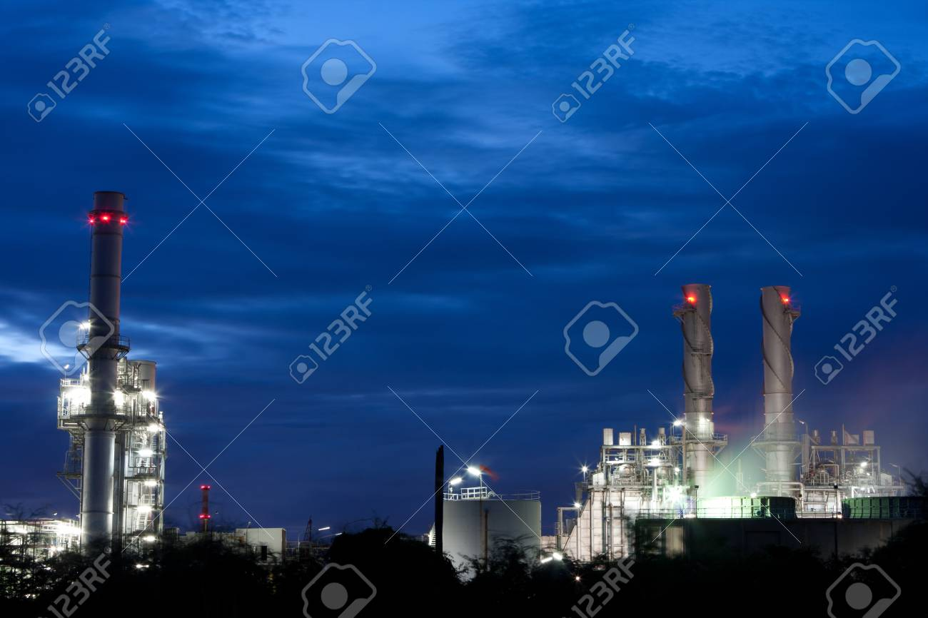 Industry with the blue sky. Stock Photo - 10533511