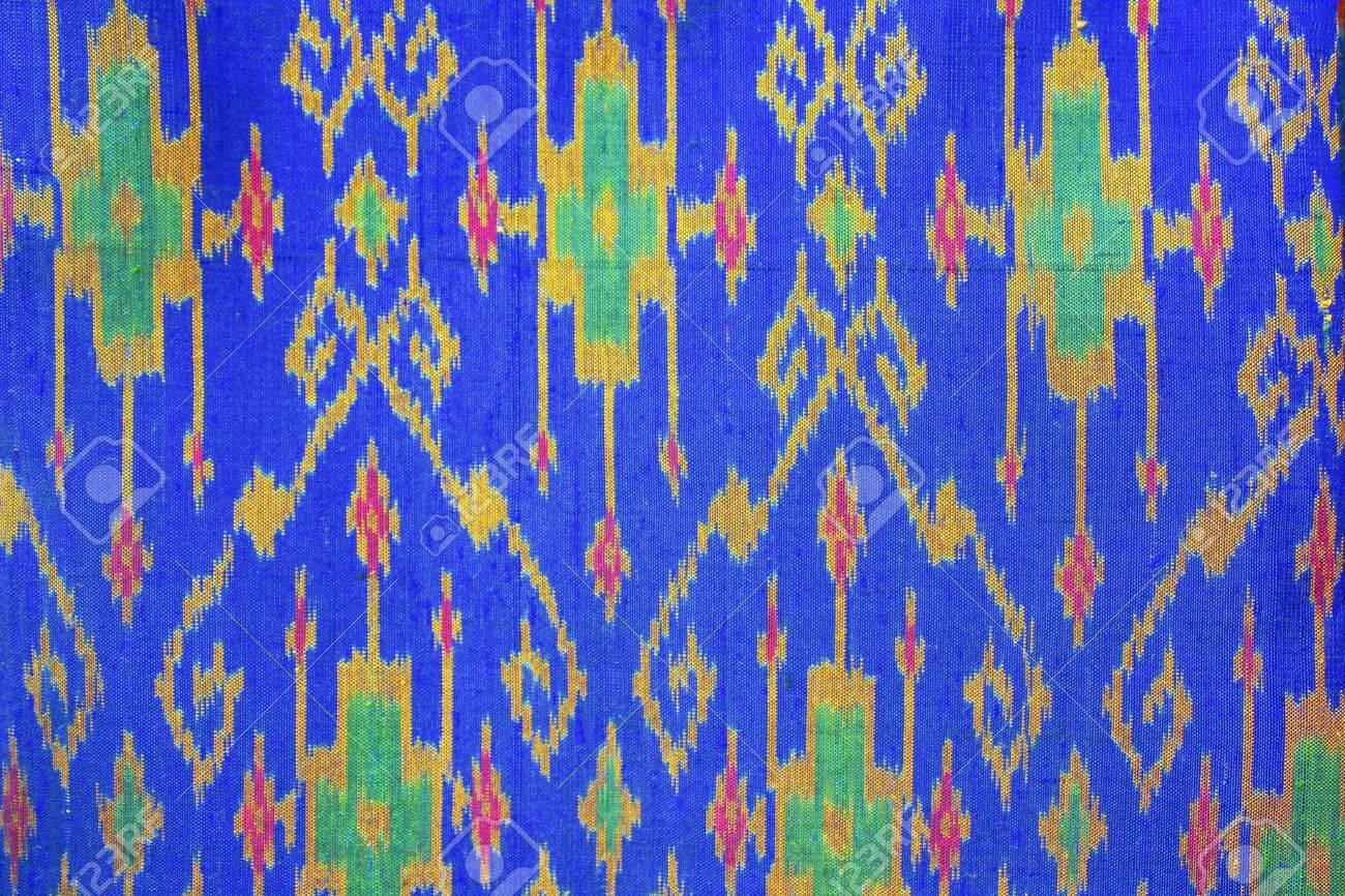 Thailand Luxury colorful silk Stock Photo - 21808171