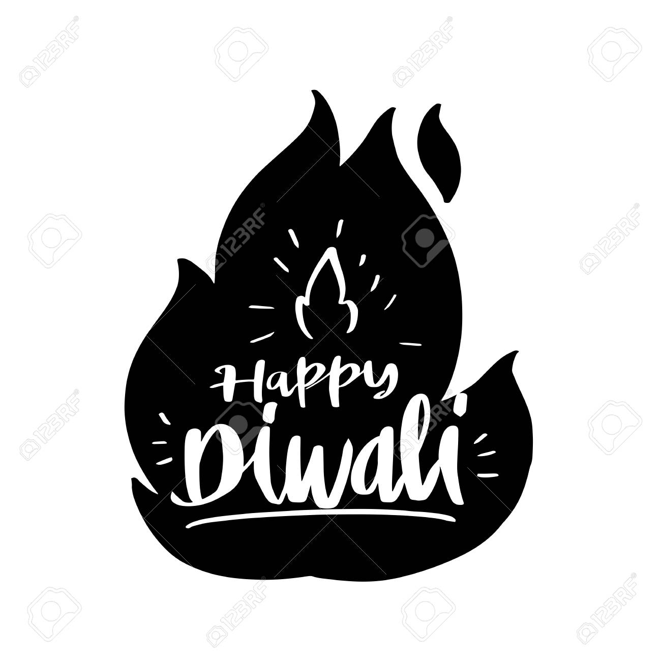 30  Best Deepavali Lamp Clipart Black And for Deepavali Lamp Black And White  287fsj