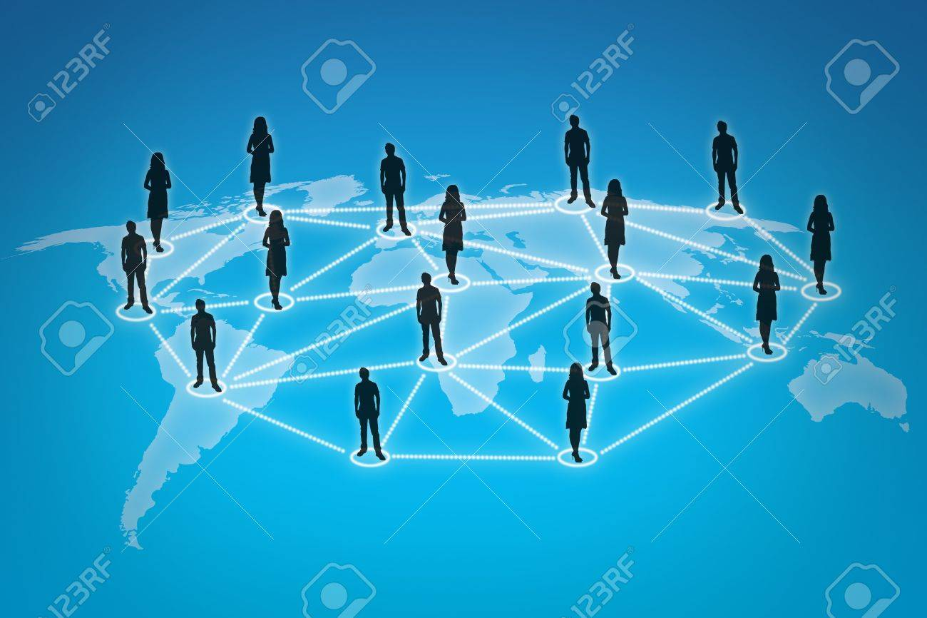 People connections Stock Photo - 10739276