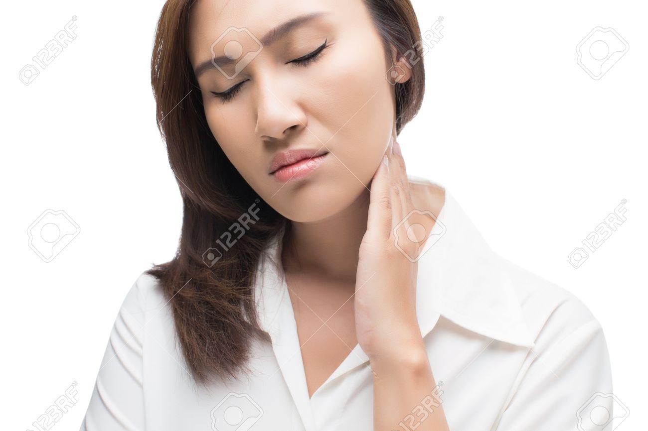 ganglios en la garganta dolor