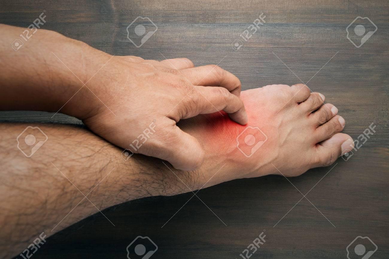 Gratter les pieds