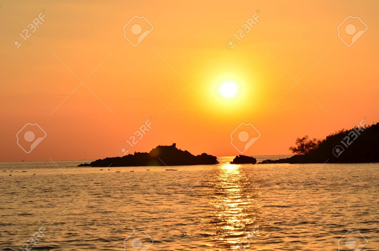 Orange Sunset Gold