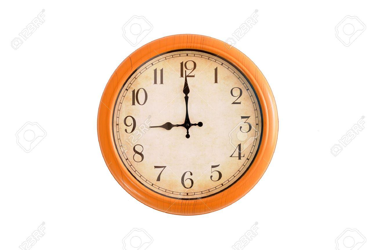 Clock Showing 10 O'clock Clock Showing 9 o Clock pm on