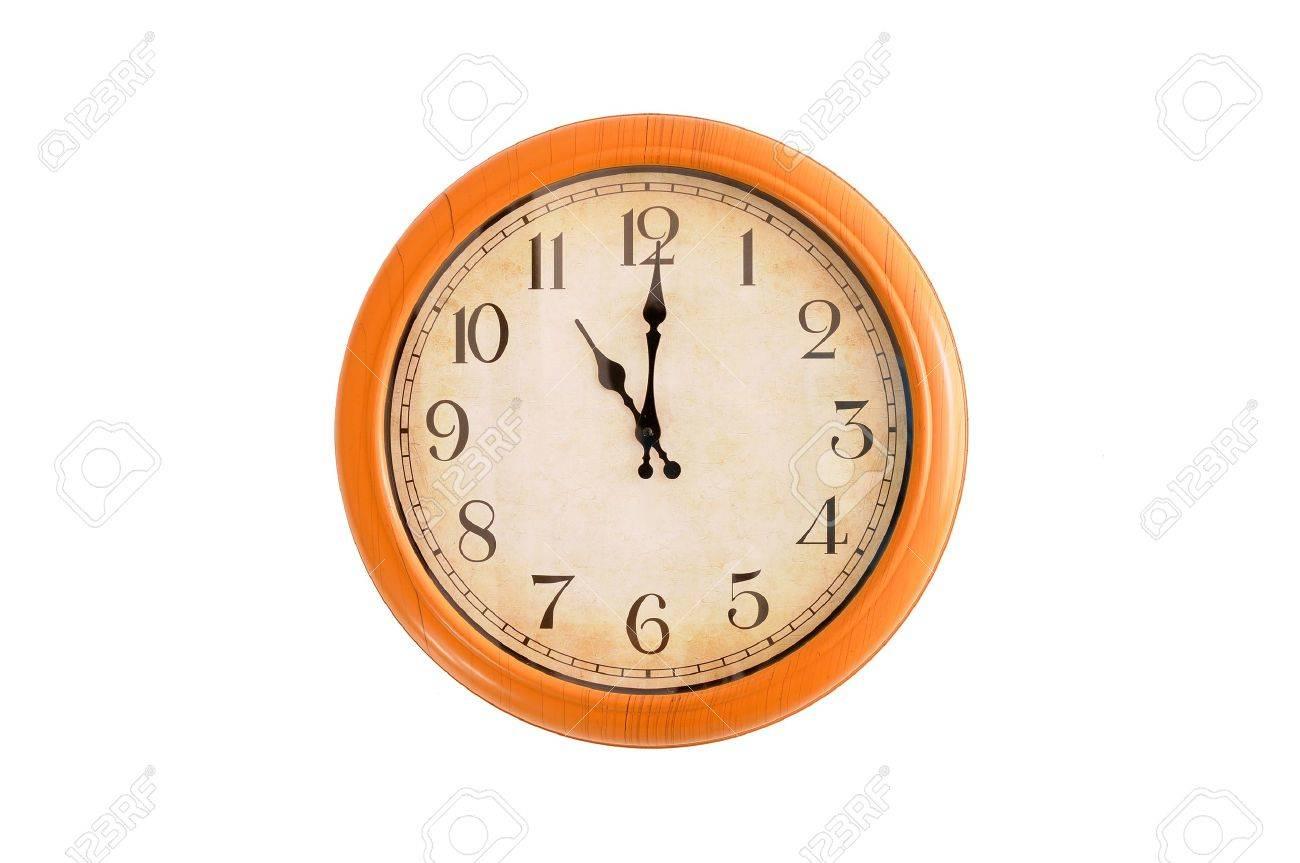 Clock Showing 10 O'clock Clock Showing 11 o Clock on a