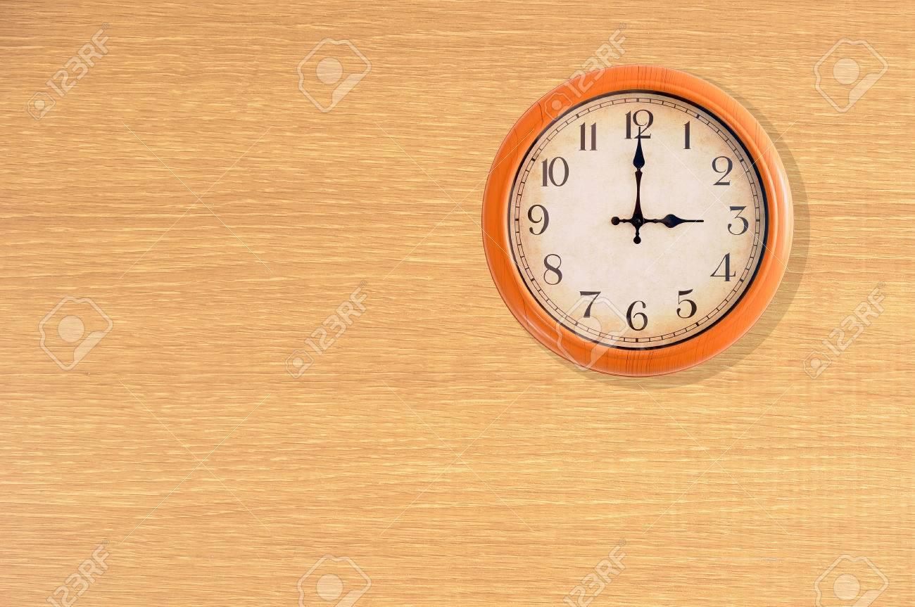 Clock Showing 10 O'clock Clock Showing 3 O'clock on a