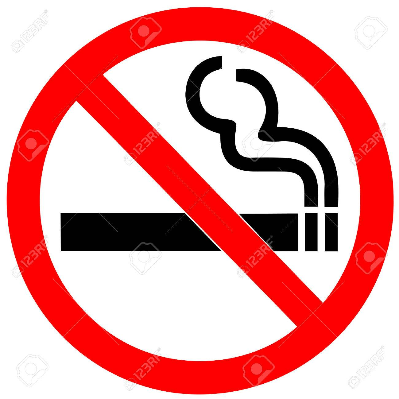 no smoking sign on white background royalty free cliparts vectors rh 123rf com no smoking vector image no smoking vector logo